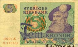 5 Kronor SUÈDE  1979 P.51d TTB