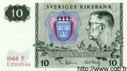 10 Kronor SUÈDE  1968 P.52b