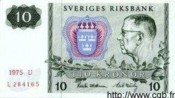10 Kronor SUÈDE  1975 P.52c SUP