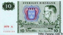 10 Kronor SUÈDE  1979 P.52d