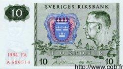 10 Kronor SUÈDE  1984 P.52e NEUF