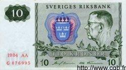10 Kronor SUÈDE  1984 P.52e SPL