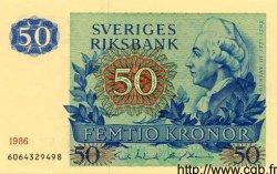 50 Kronor SUÈDE  1986 P.53d pr.NEUF
