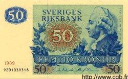 50 Kronor SUÈDE  1989 P.53d pr.NEUF