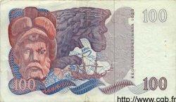 100 Kronor SUÈDE  1976 P.54b