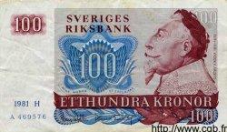 100 Kronor SUÈDE  1981 P.54c TTB