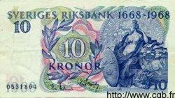 10 Kronor SUÈDE  1968 P.56a pr.SUP
