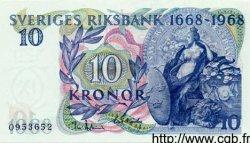 10 Kronor SUÈDE  1968 P.56a NEUF