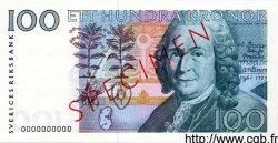 100 Kronor SUÈDE  1986 P.57s NEUF