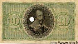 10 Kronor SUÈDE  1891 PS.688 TTB