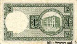 5 Kronur ISLANDE  1948 P.32a TB