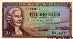 10 Kronur ISLANDE  1961 P.42 NEUF