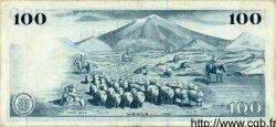 100 Kronur ISLANDE  1961 P.44 TTB+