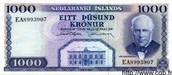 1000 Kronur ISLANDE  1961 P.46 NEUF