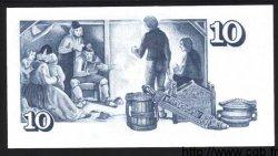 10 Kronur ISLANDE  1981 P.48