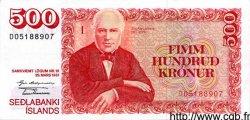 500 Kronur ISLANDE  1981 P.51 SUP+