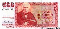 500 Kronur ISLANDE  1994 P.55 NEUF