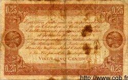 25 Centimes OCÉANIE  1919 P.01 B+