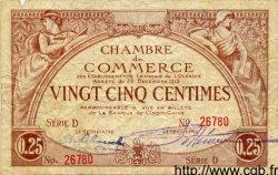 25 Centimes OCÉANIE  1919 P.01 TB+