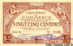 25 Centimes OCÉANIE  1919 P.001 NEUF