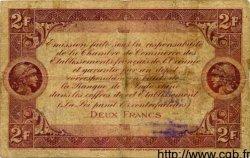2 Francs OCÉANIE  1919 P.004 pr.TB