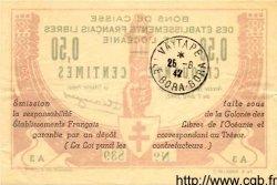 50 Centimes INDOCHINE FRANÇAISE  1942 P.007 TTB+ à SUP