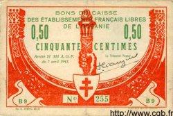 50 Centimes OCÉANIE  1942 P.07