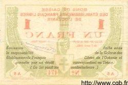 1 Franc OCÉANIE  1942 P.08