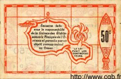 50 Centimes OCÉANIE  1943 P.10a TTB