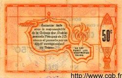 50 Centimes INDOCHINE FRANÇAISE  1943 P.010a SUP+