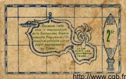 2 Francs INDOCHINE FRANÇAISE  1943 P.012a TB