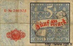 5 Mark ALLEMAGNE  1882 P.004 pr.TB