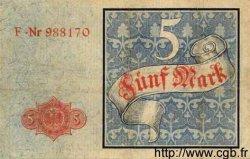 5 Mark ALLEMAGNE  1882 P.004 TTB