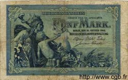 5 Mark ALLEMAGNE  1904 P.008a B