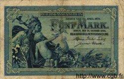 5 Mark ALLEMAGNE  1904 P.008a pr.TB