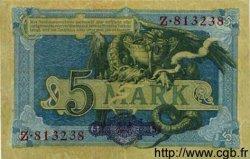 5 Mark ALLEMAGNE  1904 P.008a TTB+