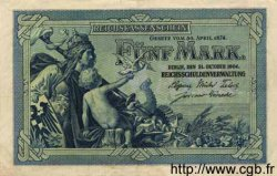 5 Mark ALLEMAGNE  1904 P.008a SUP