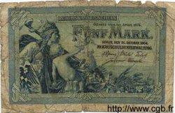 5 Mark ALLEMAGNE  1904 P.008b AB