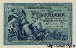 5 Mark ALLEMAGNE  1904 P.008b pr.NEUF