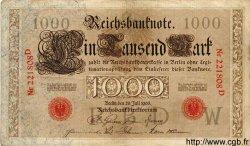 1000 Mark ALLEMAGNE  1906 P.027 pr.TTB