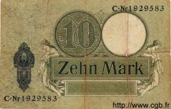 10 Mark ALLEMAGNE  1906 P.009 B à TB