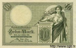 10 Mark ALLEMAGNE  1906 P.009 NEUF