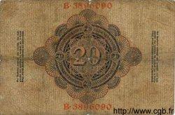 20 Mark ALLEMAGNE  1907 P.028 B