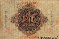 20 Mark ALLEMAGNE  1908 P.031 TB+