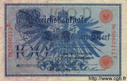 100 Mark ALLEMAGNE  1908 P.033a TB