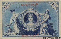 100 Mark ALLEMAGNE  1908 P.033a TTB