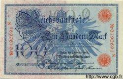 100 Mark ALLEMAGNE  1908 P.033a SPL+