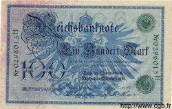 100 Mark ALLEMAGNE  1908 P.034 pr.NEUF