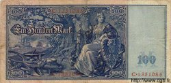 100 Mark ALLEMAGNE  1908 P.035 TB