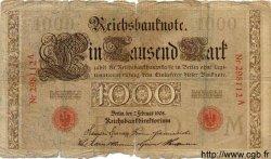 1000 Mark ALLEMAGNE  1908 P.036 AB